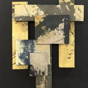 radical, Mason, Assemblage,14x12, $325